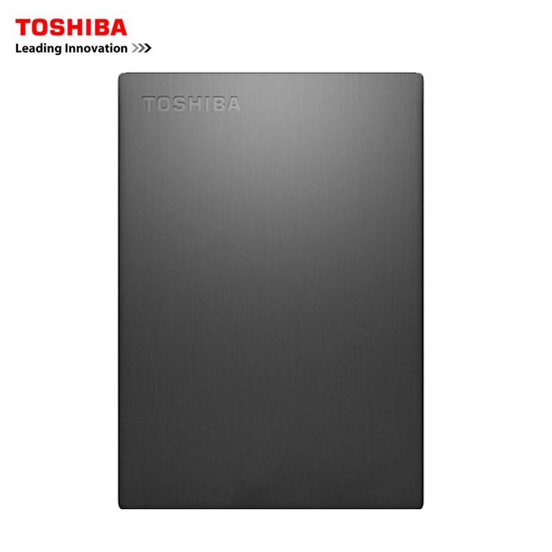 TOSHIBA CANVIO SLIM 1TB External Hard Driver Disk 1000GB HDD 2.5 USB 3.0 Slim Aluminum Alloy Shell Portable Encipher Security toshiba 1tb external hdd 1000gb portable slim hard drive disk usb 3 0 sata3 2 5 original new colorful hd