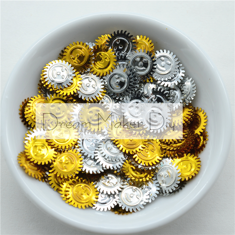 1000 Mixed Color Cup Flower loose sequins Paillettes 10mm sewing Wedding craft