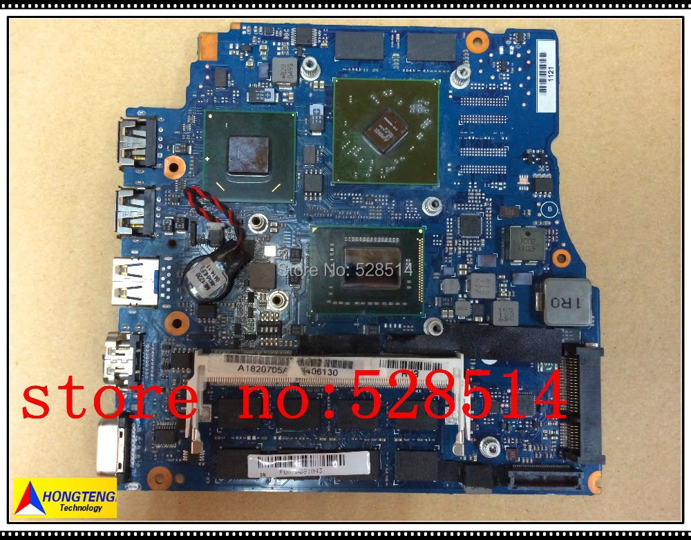 Original for sony mbx-237 laptop motherboard 1P-0114200-A011 a1820705a 100% Test ok