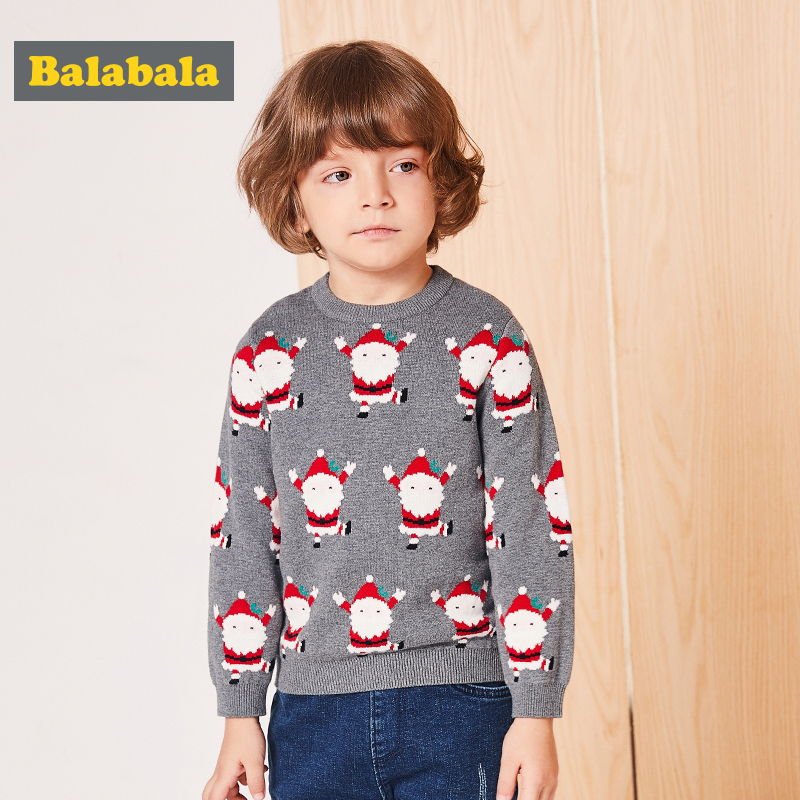 3979160acfa7 balabala sweater for boys infant baby boys lovely Christmas pullover ...