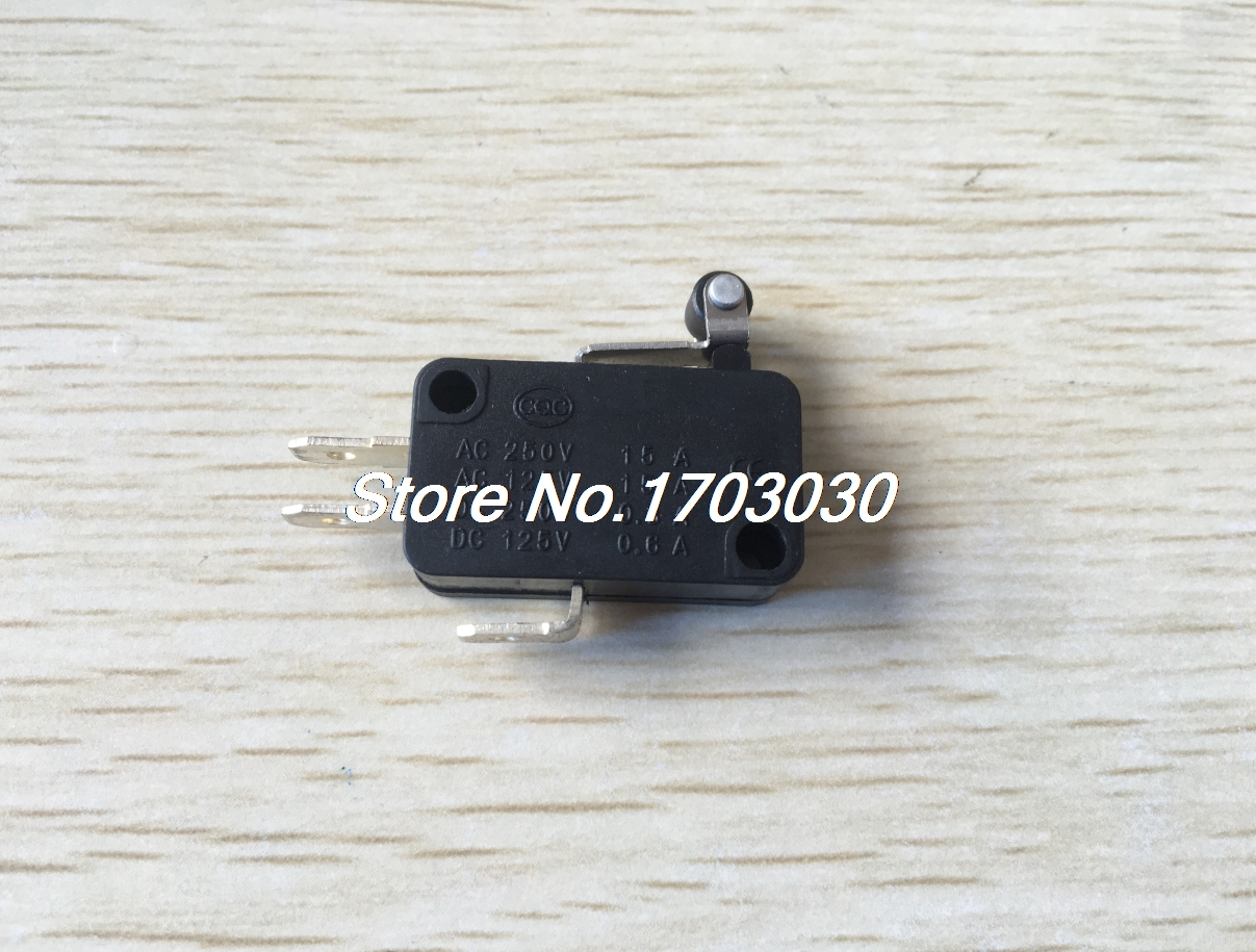 5pcs Micro Limit Switch Electric 1NO 1NC Contacts Push Button Snap Action CNC Home limit switches plug in side plunger std 1nc 1no spdt
