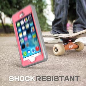 Image 5 - SUPCASE עבור iPhone SE 5 5S מקרה UB פרו מלא גוף מוקשח נרתיק קליפ מגן כיסוי עם מסך מובנה מגן מקרה