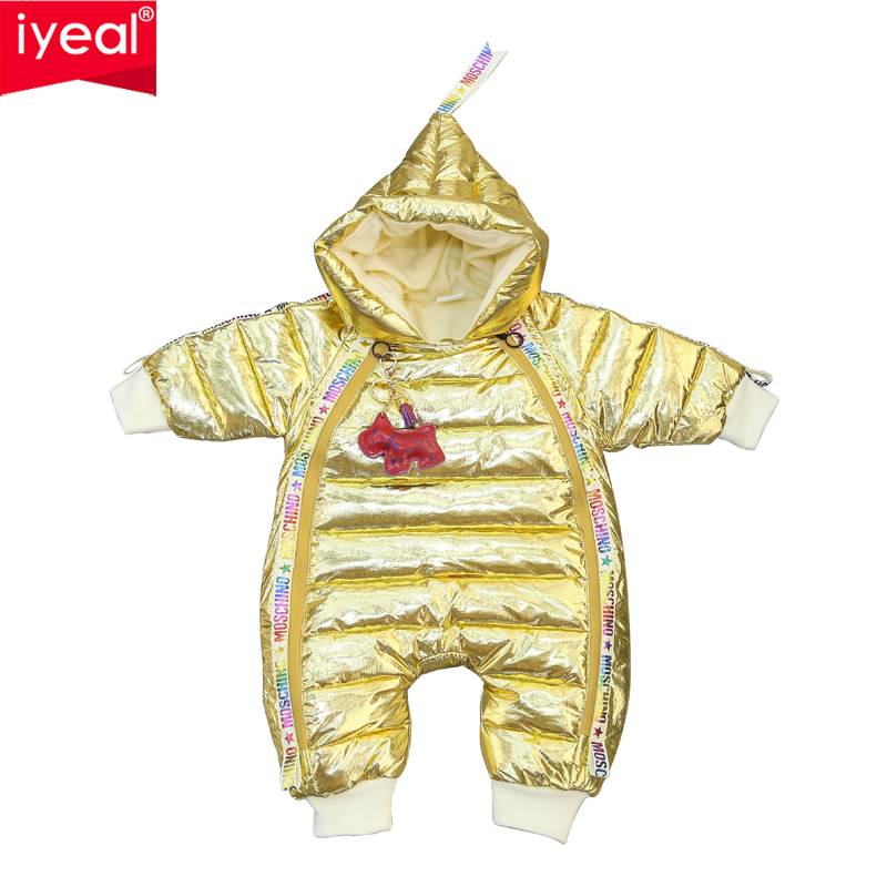 IYEAL Newest Baby Jumpsuits Boys Girls Winter Overalls Toddler Rompers Duck Down Children Warm Outerwear Kids Windproof SnowsuitIYEAL Newest Baby Jumpsuits Boys Girls Winter Overalls Toddler Rompers Duck Down Children Warm Outerwear Kids Windproof Snowsuit