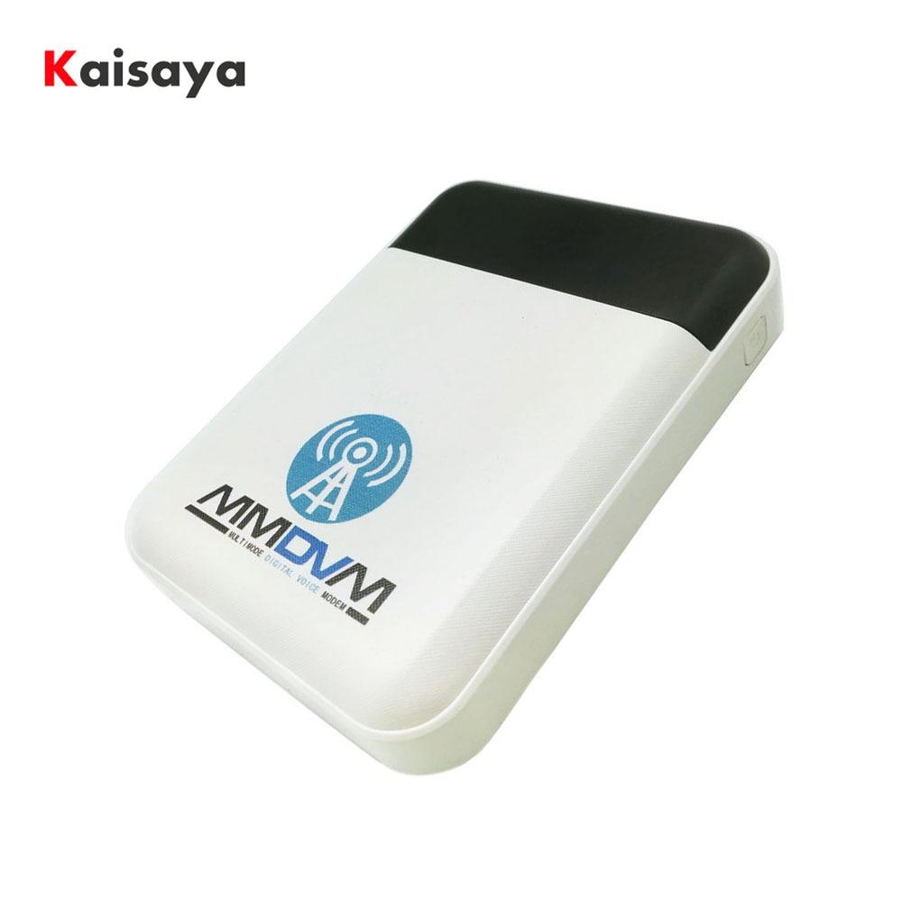 Nouveau Portable DXIYN UV + wifi numérique Hotsopt mmdvm support DMR + P25 + YSF QSO avec batterie batterie externe C6-005
