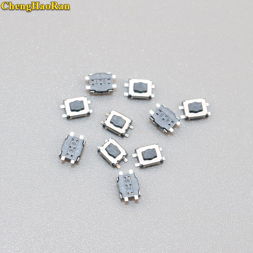 ChengHaoRan 10pcs 20pcs Micro Switch 3x4 For Citroen C1 C2 C3 C4 C5 C6 C8 REMOTE KEY FOB REPAIR SWITCH MICRO BUTTON in Switches from Lights Lighting