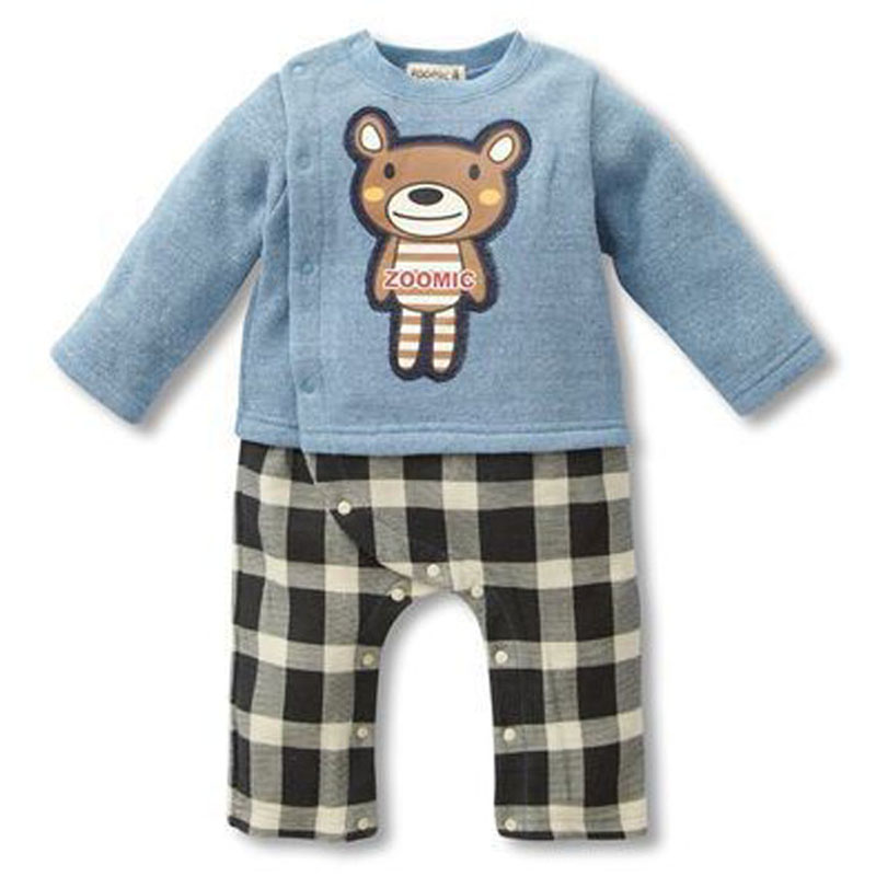 Winter hot sale Newborn baby clothes casual long-sleeved T-shirt Pants Jumpsuit Tracksuit the bear suit of the boys girls