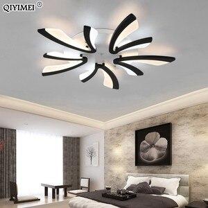 Image 3 - الاكريليك سقف ليد حديث أضواء لغرفة المعيشة غرفة نوم الطعام المنزل داخلي مصباح تركيبات الإضاءة AC85 260V لوميناريا Lampada