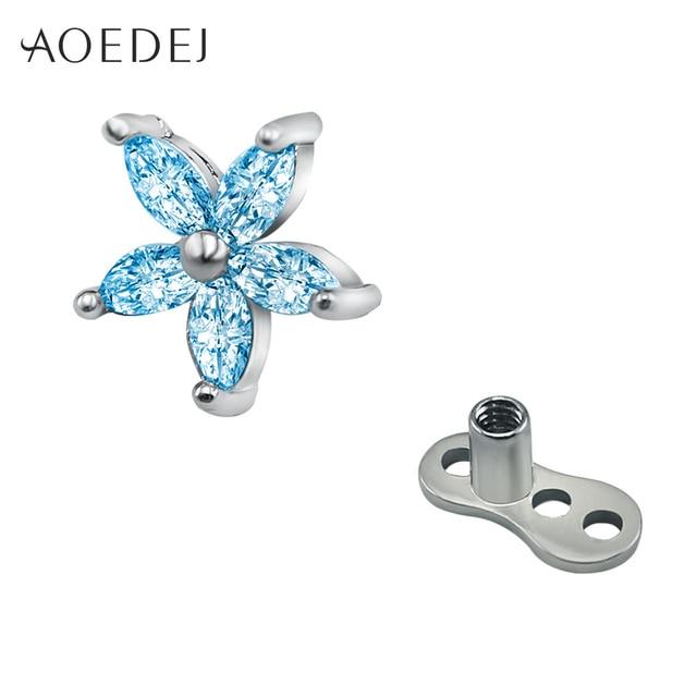 AOEDEJ Flower Crystal...