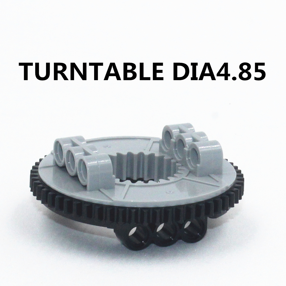 Building Blocks BulkTechnic Parts 2pcs TURNTABLE DIA4.85 Compatible With Lego For Kids Boys Toy NOC4624645