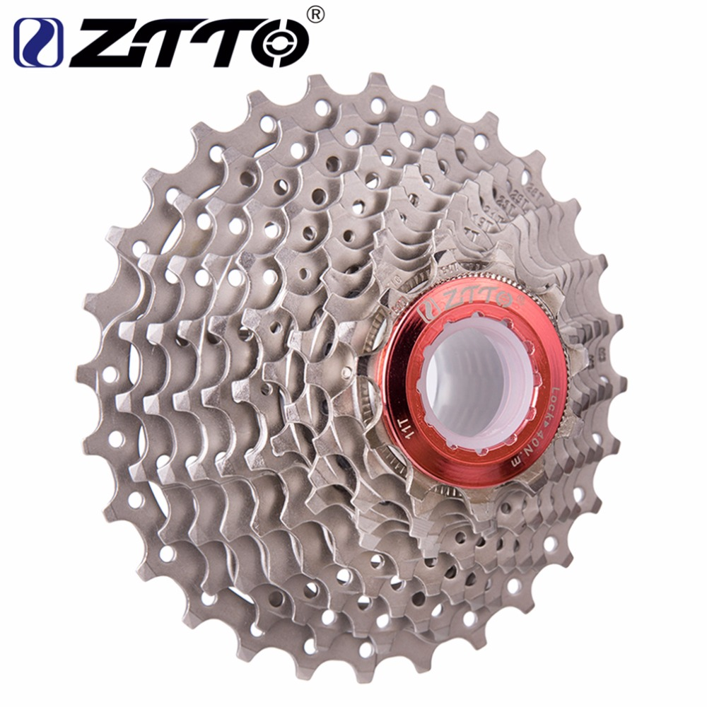 ZTTO 11s 22s 11 Speed ​​Cassette 11-28T Bicycle Freewheel Road Bike كاسيت دراجة ضرس ل Shimano 105 5800 UT 6800 DA 9100