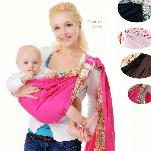 Us 6 33 17 Off Baby Sling Wrap Back Towel Cotton Carrier Backpack Sling Front Hold Bag Carry Hip Seat Double Buckle Breathable Nursing Pacifier In