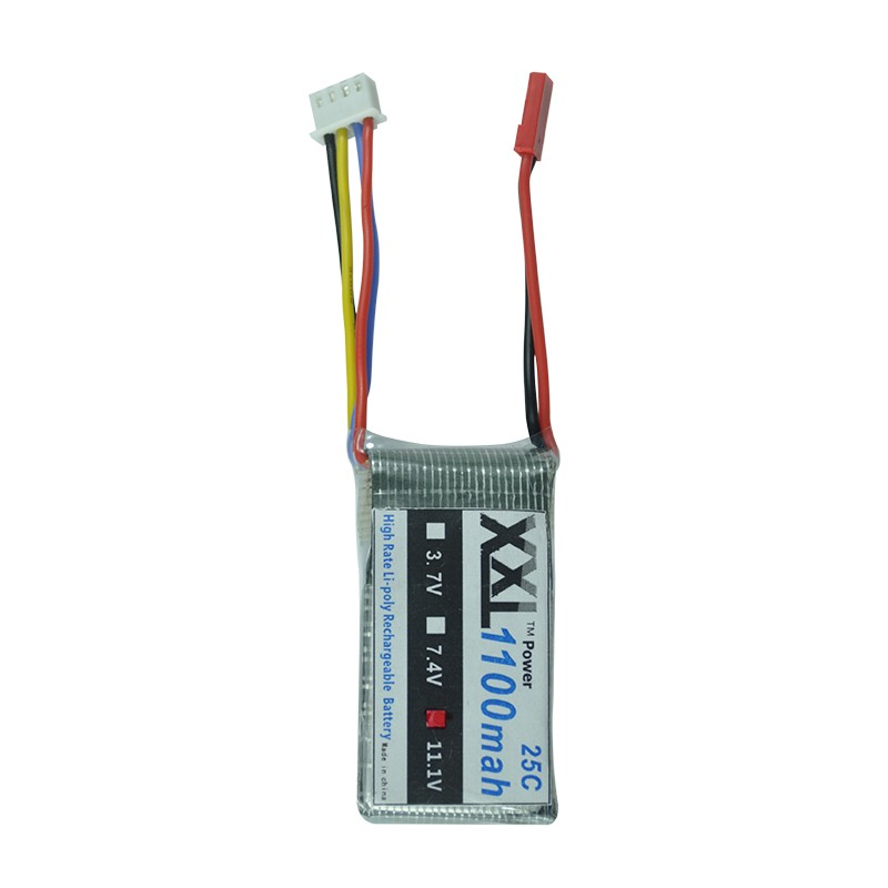 XXL Lipo 3S 11 1V 1100mAh 25C Lipo Battery for WLtoys V262 V353 V912 font b
