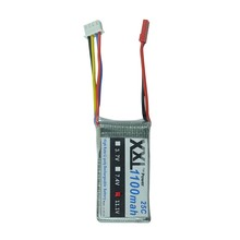 XXL  Lipo 3S 11.1V 1100mAh 25C Lipo Battery for WLtoys V262 V353 V912 RC Helicopter Quadcopter Spare Parts