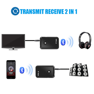 Image 4 - Kebidumei 2 in 1 Wireless Bluetooth V4.2 Transmitter Receiver 3.5mm Stereo Music Audio Adapter for TV Headphones Speaker