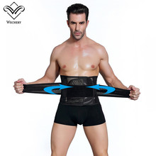 Wechery Slimming Belt Belly font b Men b font Body Shaper Corset Abdomen Tummy Shaperwear Waist