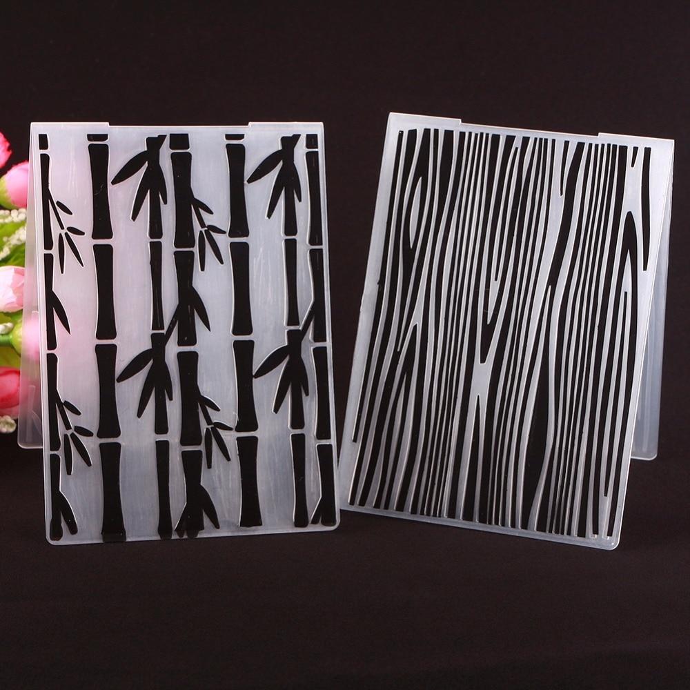 New Simple Design Diy Craft Scrapbooking Decoration Bamboo Texture