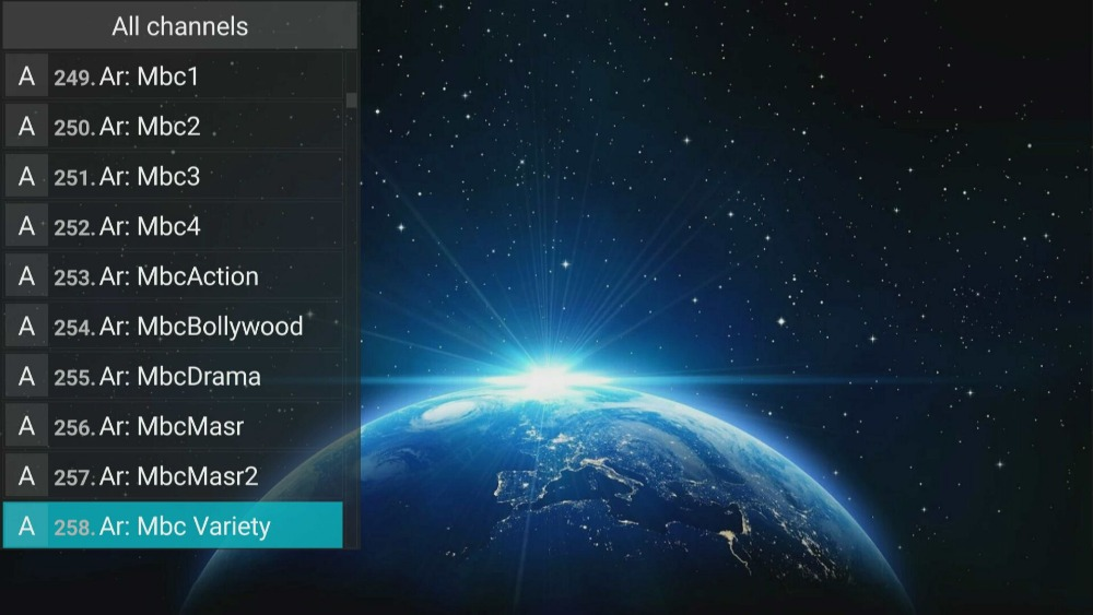 One year IPTV Subscription by Android APK MAG 25X 6000+ Live IPTV