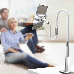 Image 2 - Ynmiwei Mobiele Telefoon Houder 130Cm Lange Arm Bed/Desktop Clip Beugel Voor Ipad Bureau Tablet Stands Ondersteuning