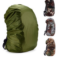2016 Nylon Rain Bag 35 70L Protable Waterproof Backpack Bag Dust Rain Cover For Travel Camping