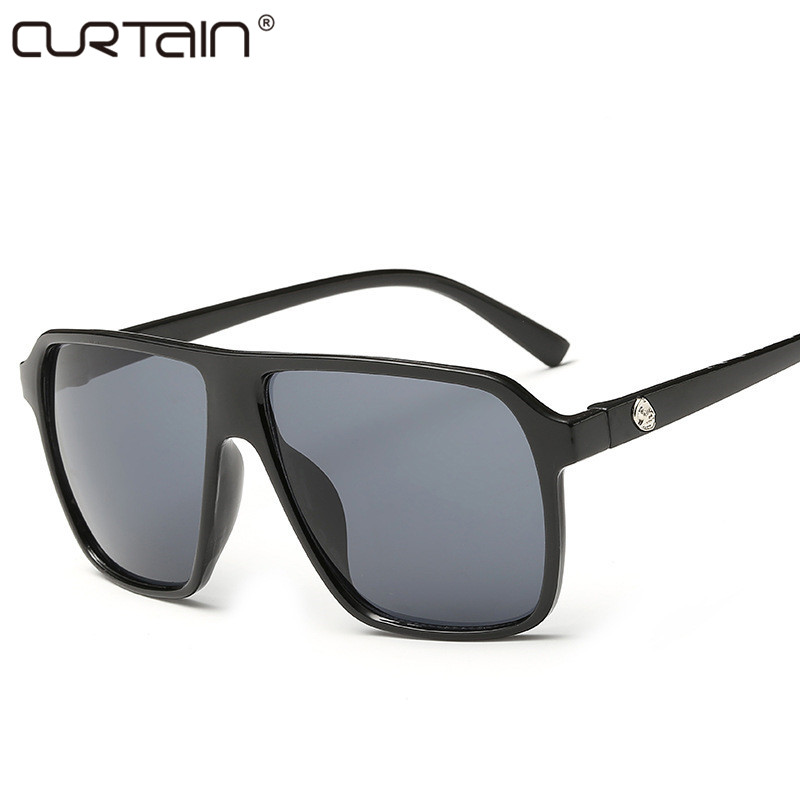 2019 nový módní velký rám styl dámské sluneční brýle značkové značkové luxusní sluneční brýle retro dámské brýle Shades Oculos De Sol