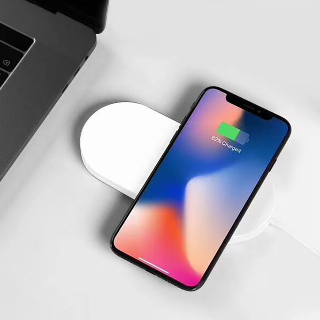 US $44 99 |BlackMix Original Wireless Charger for iPhone X Apple Watch Mini  AirPower Wireless Charger for iPhoneX 10 Apple Watch Series 3-in Wireless