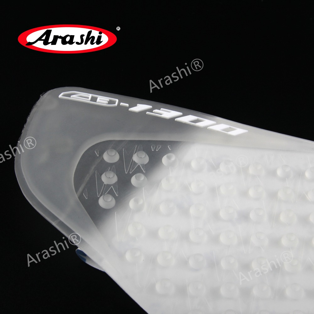 Tireless Arashi Clear Tank Pads For Honda Cb1300 2006-2015 Side Gas Knee Grip Traction Pad Protecftor Stickers Cb 1300 2006-2015 Automobiles & Motorcycles Decals & Stickers