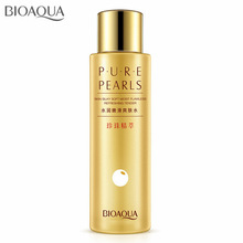 2018 BIOAQUA Pure Pearl Essence Face Toner Deep Moisturizing Nourish Skin Care Anti Wrinkle Face Care Whitening Facial Toner