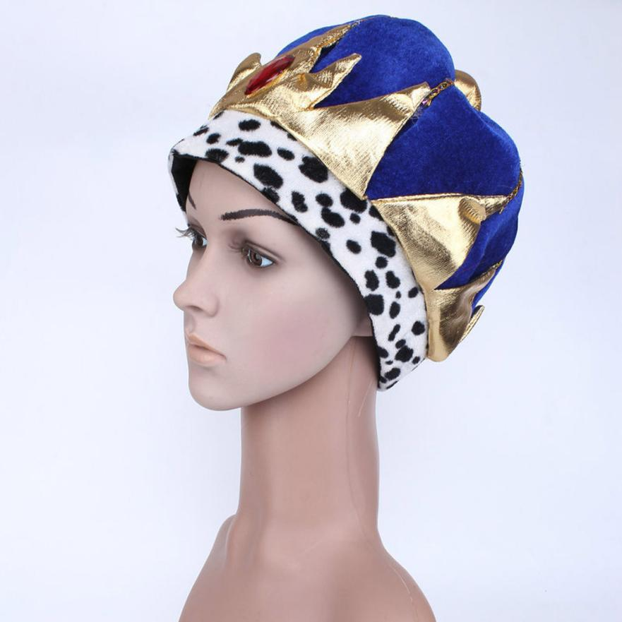 VOT7 vestitiy Child Toddler Pharaoh Prince Hat For Halloween Costume Accessory Cosplay Cap Aug 23