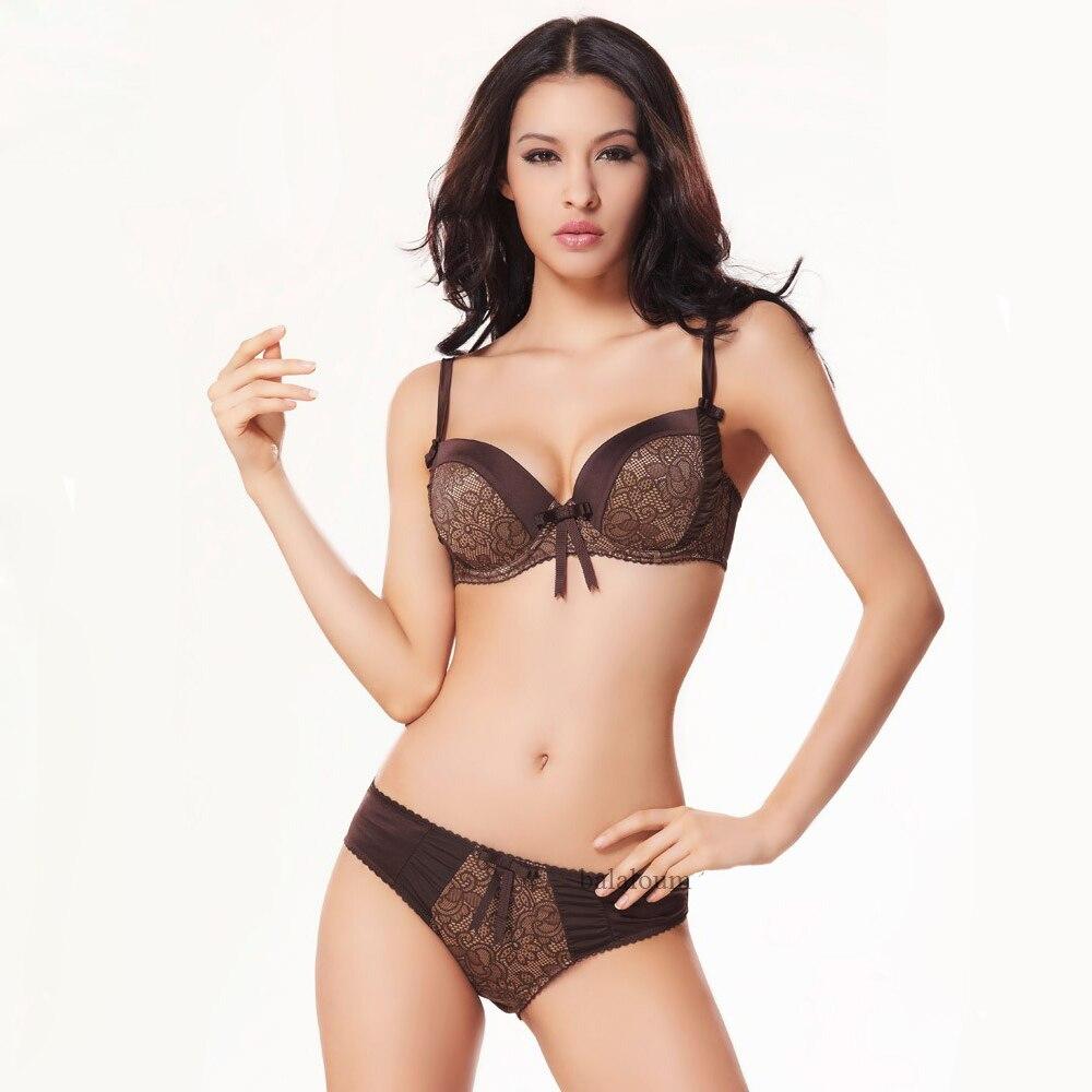 9143f49a67c13 Balaloum Women Lingerie Plus Size Sexy Push Up Bra Set Fashion Large Woman  Underwear Minimizer Intimates