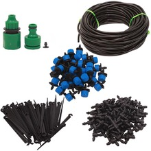 5m Garden Drip Irrigation System Automatic Watering Garden Hose Micro Drip Garden Watering Kits with Adjustable Drippers