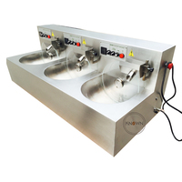 During christmas 850*3W 24kg /h chocolate tempering machine / chocolate melting machine / chocolate melter on promotion