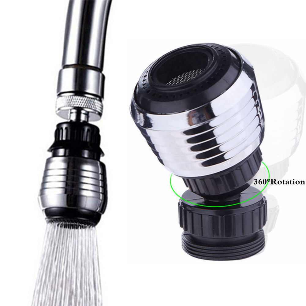 360 Degree Aerator Water Bubbler Swivel Head Kitchen Filter Faucet Nozzle Rotary Faucet Shower Head Tap for Bathroom Kitchen все цены