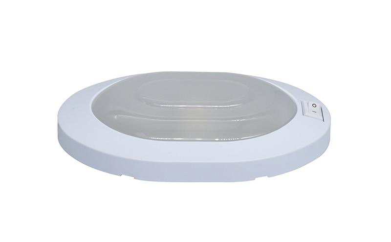 12V Caravan Light LED Motorhome Caravan Interior Lamp White Oval RV Lights Motor Home Accessories