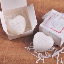 Сердце Любовь дизайн ванная комната мыло ручной работы ванная комната мыло Свадебная вечеринка любовь подарок на день Святого Валентина