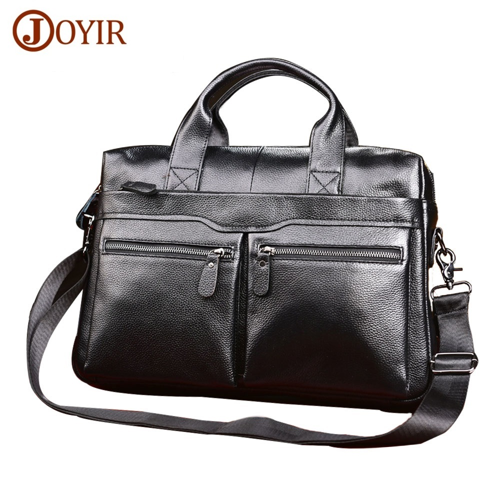 Genuine Leather Men Briefcases Laptop Casual Brand Designed Handbag Business Bags Messenger Bag Male Crossbody Shoulder Bags j quinn men leather briefcases bags business shoulder crossbody genuine handbag messenger laptop pack for male travel mens bag
