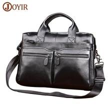 hot deal buy genuine leather men briefcases laptop casual brand designed handbag business bags messenger bag male crossbody shoulder bags