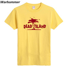 T shirt 2017 vrouwen Dead Island T shirt Men Game Players Short Sleeve White Black EU size Cotton Printed Casual Tee Shirt Homme