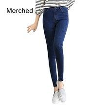 Merched Casual Slim Zipper Jeans Zipper Vintage Washed Long Trousers Capris Women Pockets Autumn Pencil Pants 4XL 5XL Plus Size