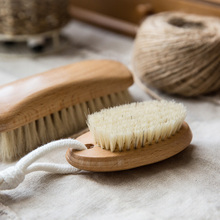 Modern housewife wood series wood handle bristle brush washing Home Furnishing household chores