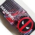 Comics DC Marvel cartera única Deadpool cuero dibujos animados Anime bolso bolsos de mujer de marca famosa 2016 4.5 pulgadas bolso de embrague portfel