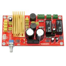 TDA8920 Class D 2*100W Upgrade Amplifier Board w/ Dual Relay Speaker Protection Board YJ00266 free shipping assembled tda7294 2 1 channel deluxe upgrade amplifier board with horn protection