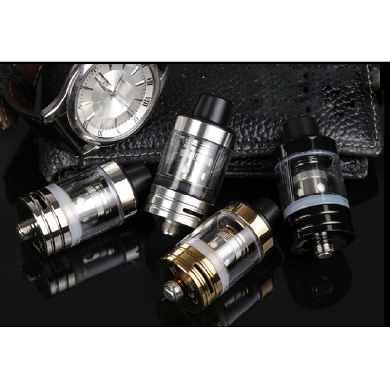 Image 5 - JVSURF Atomizer 3ml Top Tank Head Coils for Vape Electronic Cigarettes Vape Starter Kit 100W 22mm Coils Cap Drip Tip 1pcs-in Electronic Cigarette Atomizers from Consumer Electronics
