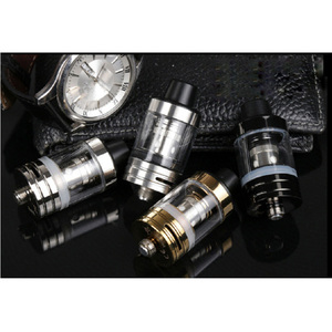 Image 5 - JVSURF Atomizer 3ml Top Tank Head Coils for Vape Electronic Cigarettes Vape Starter Kit 100W 22mm Coils Cap Drip Tip 1pcs