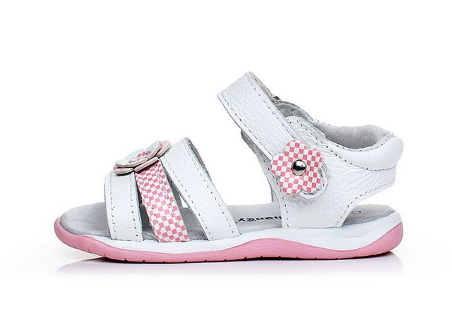 Good Quality Genuine Leather Princess Infant Little Girl Summer Shoes Skidproof  Infants Footwear Girls First  Walkers Toddlers