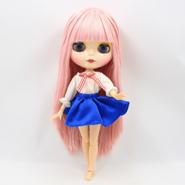 Factory Neo Blythe Doll Light Pink Hair 28cm