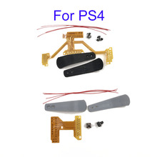Juego de placa de la cinta para mando de PS4, Kit de cable de botón para paletas, remapper V1 V3 W, 10 juegos