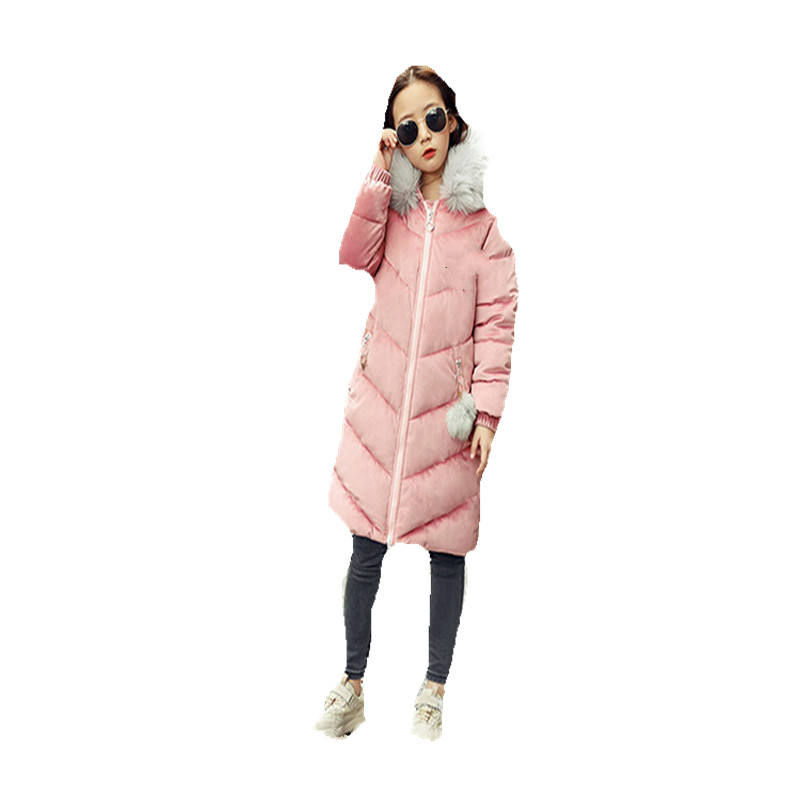 New Winter Winter Coat Girl Sweet Lovely Princess Big Hair Collar Hood Thickened Warm Down Jacket. olgitum women s winter warm in the long section of slim was thin winter clothes tops down jacket big hair collar cc056