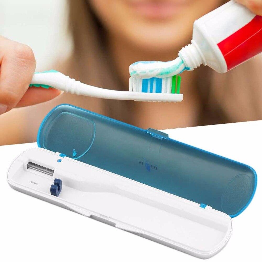 Zahnbürste Sanitizer Uv Licht Reise Automatische Zahnbürste Sterilisator Werkzeug Box Zahn Pinsel Desinfektion Box Uv Sterilisation Fall Sanitizer Reiniger Schönheit & Gesundheit