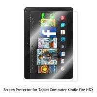 סרט PET ברור LCD Anti-Scratch/אנטי בועה/כיסוי מגן מסך Tablet קינדל מגע קשוב אש HDX
