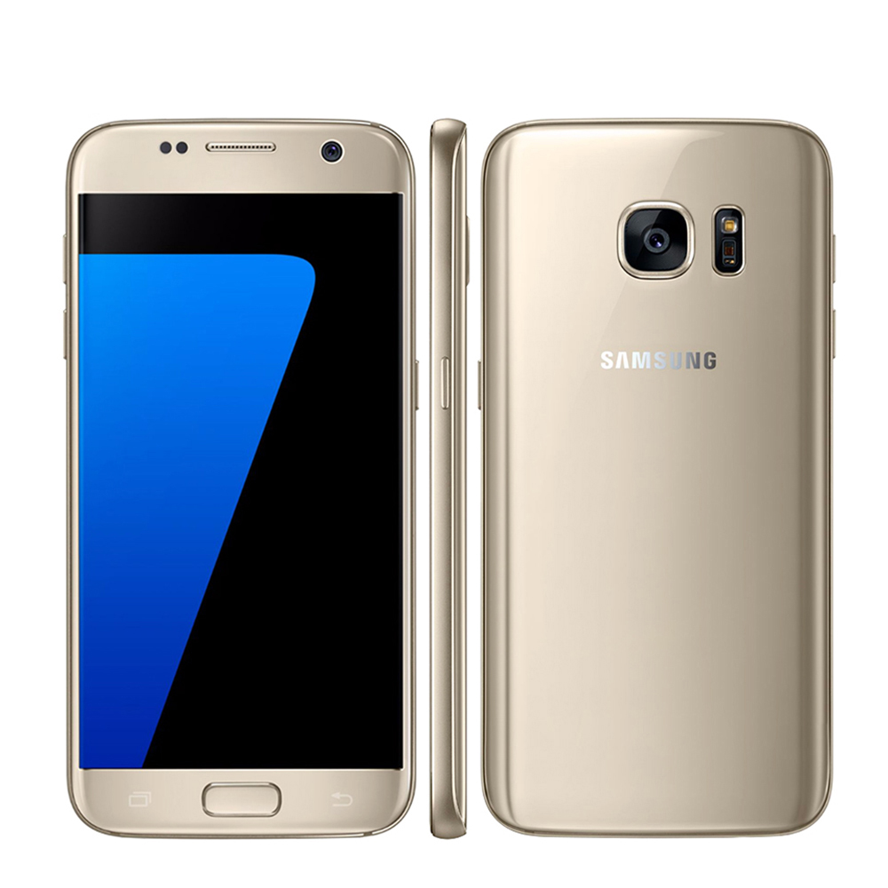 """Original Unlocked Samsung Galaxy S7 G930F / S7 Edge G935F LTE Octa Core 5.1"""" 12MP 4G 32G ROM GSM Android Mobile Phone S7 Phone"""